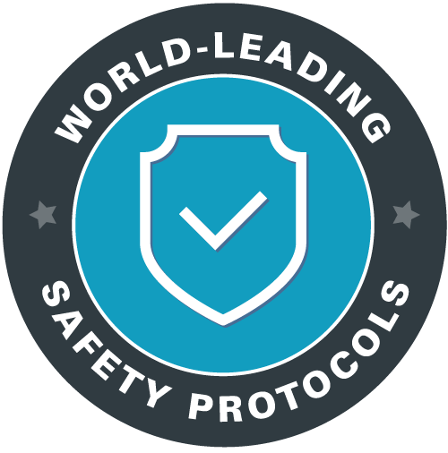 World leading safety protocols